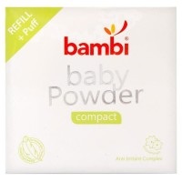 (Baby Club Itc Bsd) Bedak Powder Compact Refill Bambi 40gr