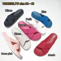 jelly sandal wanita silang slop bara bara karet import WS855SL7W