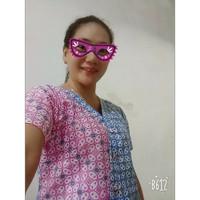 Atasan Blouse Batik Wanita S.M.L.XL.XXL