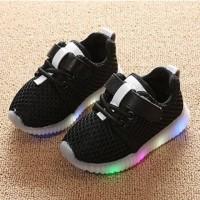 Sepatu Lampu LED Bayi Anak Sneaker Import DA S09