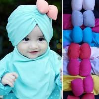 Jilbab Bayi Anak Pita Lucu / Kerudung Bayi Anak DA J01