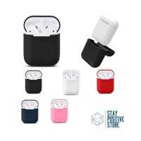 Apple Airpods Cover Pouch Silicone Case Protective