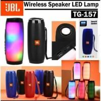 Speaker Bluetooth Wireless Portable JBL TG157 / Charge 2 Pulse Lights - Hijau Tosha
