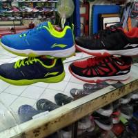 Sepatu Badminton Li-Ning Cloude Ace III RED ORIGINAL
