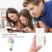 Smart Light Bulb LED Ezsee / Lampu Pintar Wifi 10W Wireless Remote