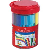 Connector Pen Faber Castell 50 Warna