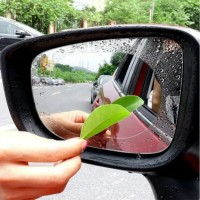 2pcs Stiker Film Spion Anti Fog Air Embun Kabut Hujan Rain Waterproof