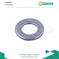 SUS 304 Ring Plat Lebar M8 x 2 x 25 ( Stainless Steel )