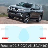 Kaca Film Anti Fog Waterproof For Toyota Fortuner , Innova Reborn