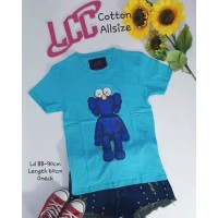 Kaos LCC Biru All Size