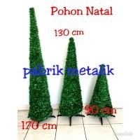 Pohon Natal Sedang 130 cm / Christmas Tree Murah