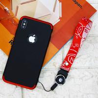 Gantungan HP / Kartu / ID Card Handphone Strap Lanyard Motif Rumus - Merah