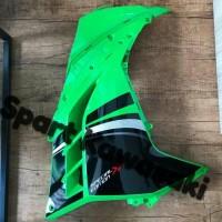 cover fairing fering atas ninja 250 fi SE hijau 2013 Original Kawasaki