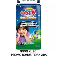 Goon XL26 + 2 Goo.N Smile Baby Night Pants Super Jumbo XL isi 26 + 2