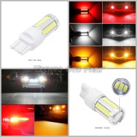 Lampu Led Tancap Stop Rem Mode Normal T20 7443 5630 33smd Warna Putih