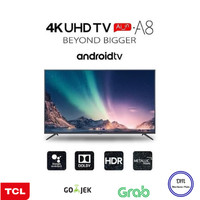 TCL Android Smart UHD 4K TV 43 Inch 43A8