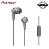Earphone Pioneer In Ear SE-C3T Headset Original Garansi Resmi - GREY
