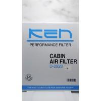 Filter AC Mobil Carbon Anti Bakteri Brown Vios Altis Camry Alphard
