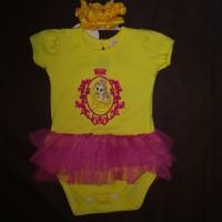 Baju Bayi Anak Perempuan Setelan Jumper Tutu