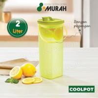 SERBU MURAH - Botol Minum Air Kulkas 2 Liter - Cool Pot MIZU 2 Liter