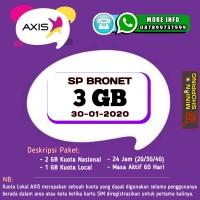 PERDANA AXIS BRONET 3 GB (ALL JARINGAN)