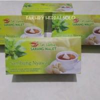obat herbal khasiat ampuh teh sarang walet plus sambung nyawa original