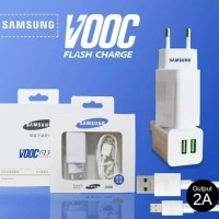 Charger Samsung VOOC Dual USB Casan 2A Fast Charging
