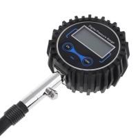 Vehicle Tire Tyre Air Pressure Gauge Digital Car Bike Motor Pressure