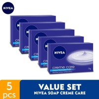 NIVEA SOAP CREME CARE - VALUE SET