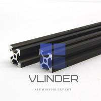 V Slot 2020 Alumunium CNC Track - Classic Dark Bronze