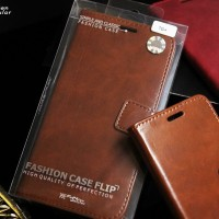 LEATHER FLIP COVER WALLET SAMSUNG A10 / M10 CASE CASING