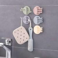 hook tempel gantungan serbaguna dapur,kamar mandi dll