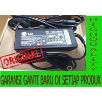 "Adaptor LCD/LED Monitor LG 19V -1,7A Original"" + Kabel Power AC"