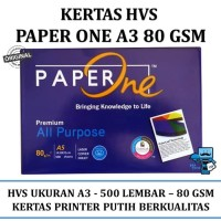 Kertas A3 80 Paper One