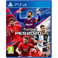 PES Pro Evolution Soccer 2020 Reg 2 - PS4 Playstation 4