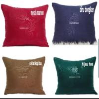 sarung bantal embos sofa / kirsi 60 x 60