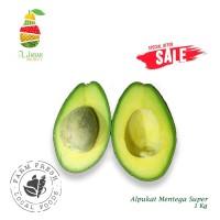 Alpukat Mentega Super 1kg / Buah Segar / Alpukat / Avocado