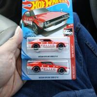 Hot Wheels - Nissan Skyline Kenmeri Police Red Merag