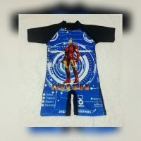 baju renang anak cowok TK -SD Tobot tayo spiderman diving anak karakte