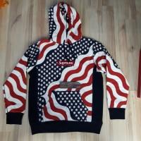 Supreme American US FLAG Hoodie FW14 Best Perfect Replica 1:1