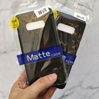 Samsung Galaxy S10 Lite SLIM BLACK MATTE CASE SOFTCASE Blackmatte case