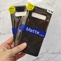 Samsung Galaxy S10 Plus SLIM BLACK MATTE CASE SOFTCASE Blackmatte case