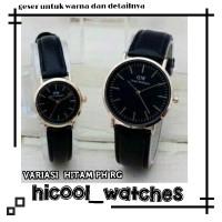 jam tangan pria wanita couple WD semi original termurah