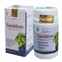 obat herbal khasiat ampuh kapsul sambiloto original tazakka alami
