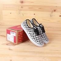 VANS AUTHENTIC CHECKERBOARD BLACK WHITE