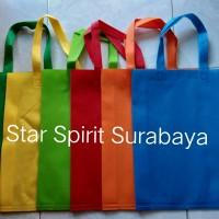 Tas Spunbond / kain / Goodie bag tali / souvenir 20 x 25 x 8