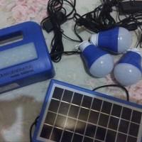 Lampu emergency LED tenaga matahari lampu darurat solar cel