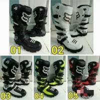 sepatu boot traill cross lokal warna F0