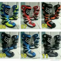 sepatu cross boot traill lokal warna F0
