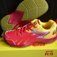 Sepatu Badminton RS Jeffer 704 JF 704 original